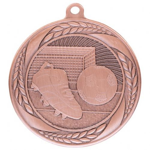 Typhoon Football Medal Bronze 55mm